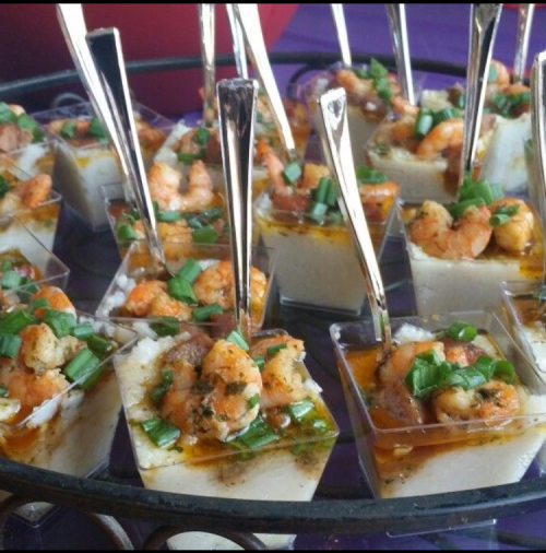 anniversary shrimp n grits